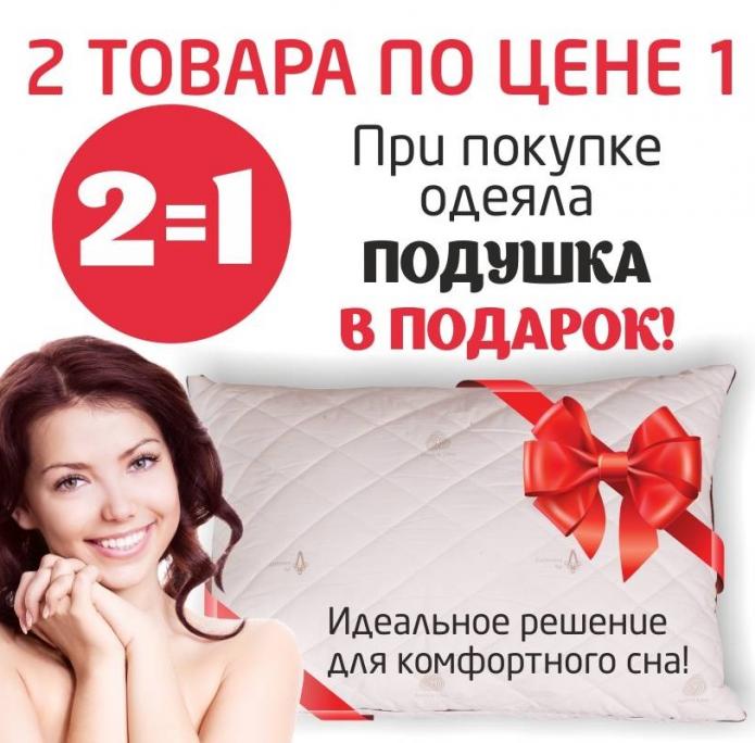 Пример акции «Товар в подарок»