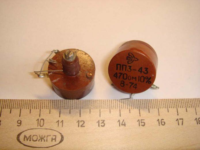 Резистор ППЗ-43