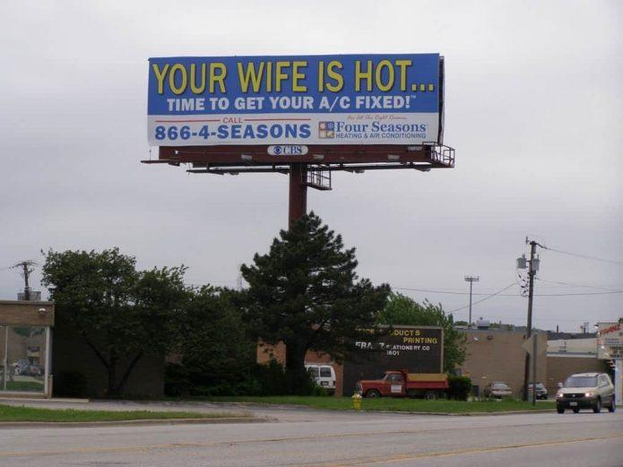 наружная реклама в сша