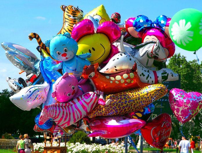 «Букет» воздушных шаров