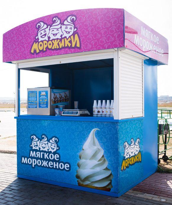 Ларёк по продаже мороженого