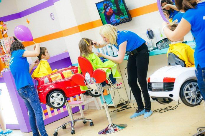 Парикмахерский салон для детей