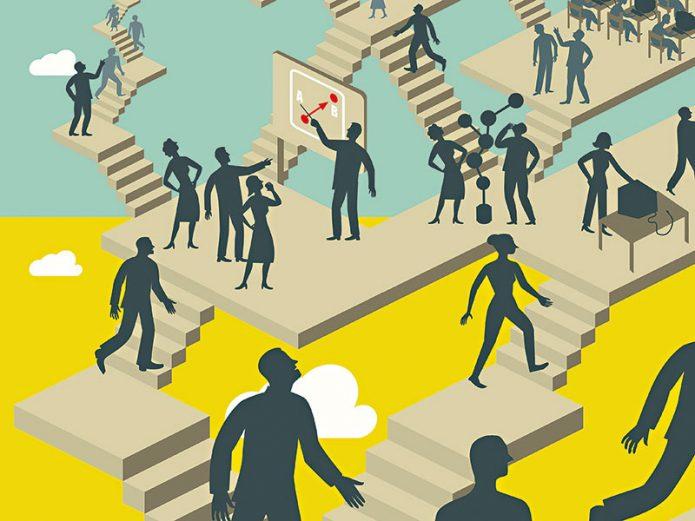 Подъем по карьерной лестнице