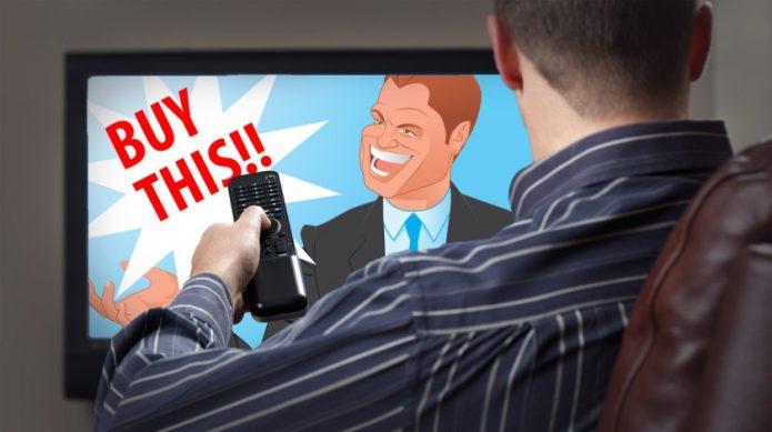Реклама в телевизоре