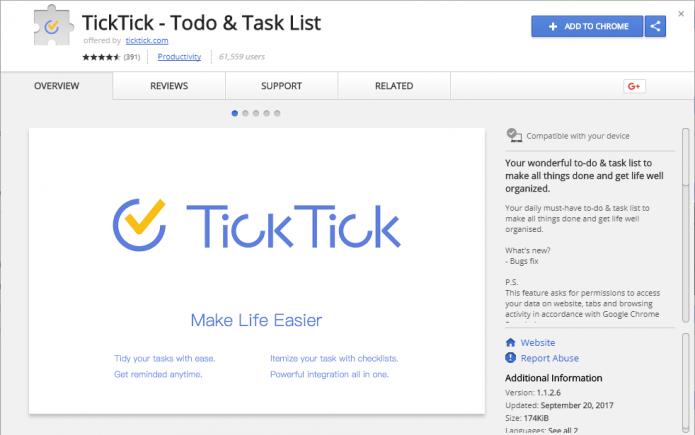 TickTick — Тodo