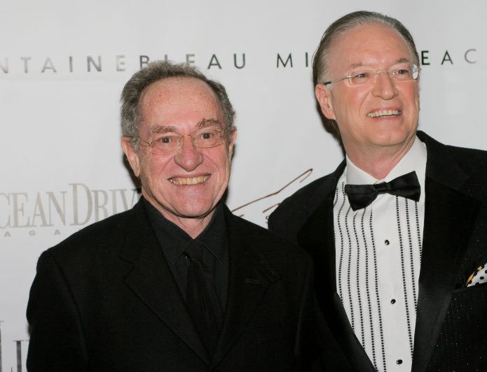 Рой Блэк с другим известным адвокатом