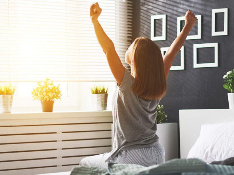 Как встать рано утром и выспаться?