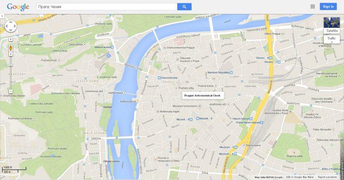 Онлайн-карта