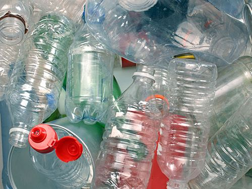 Пластиковы бутылки