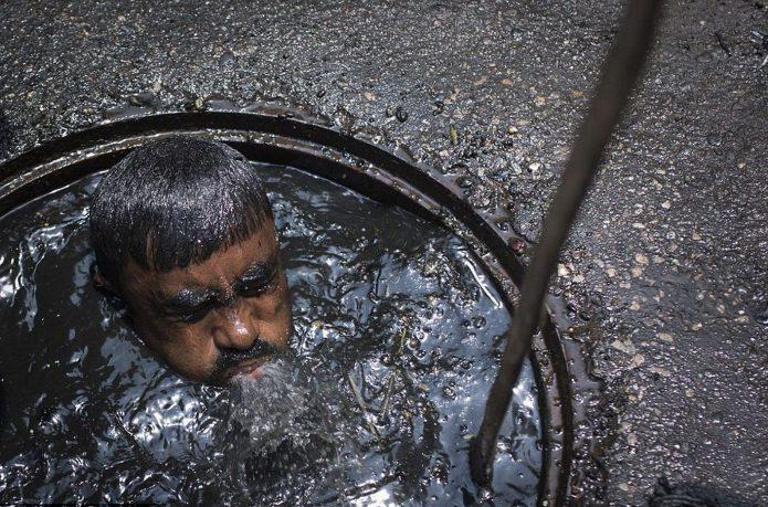 Чистильщик канализаций