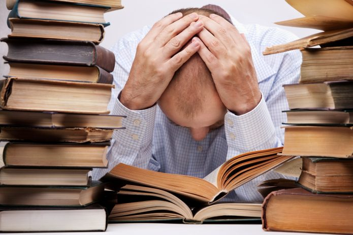 Корпеть над книгами
