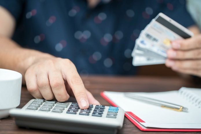 Калькулятор и банковские карты