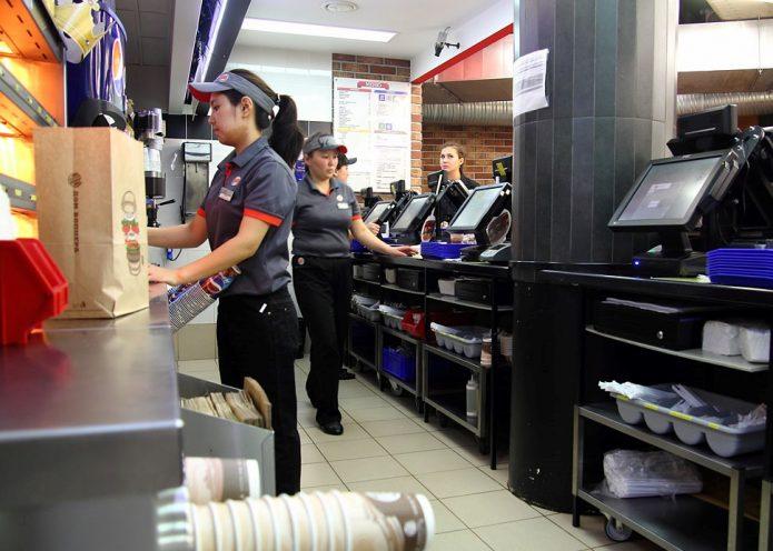 Работа в Burger King