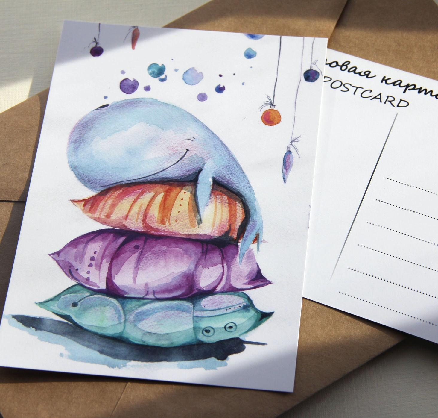 Днем рождения, открытки нарисованные от руки