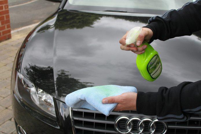 Мытьё автомобиля