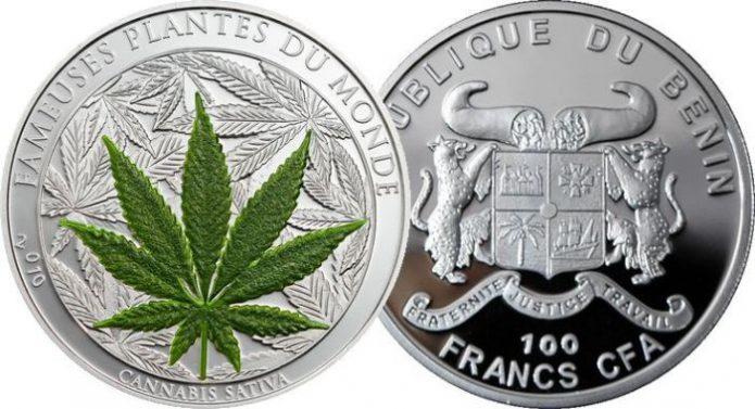 Монета Республики Бенин