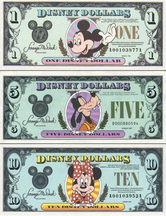 Доллары Диснея