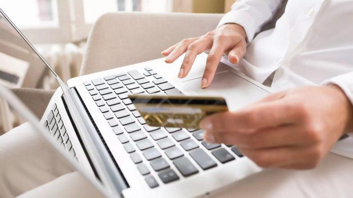 Оплата покупок через интернет