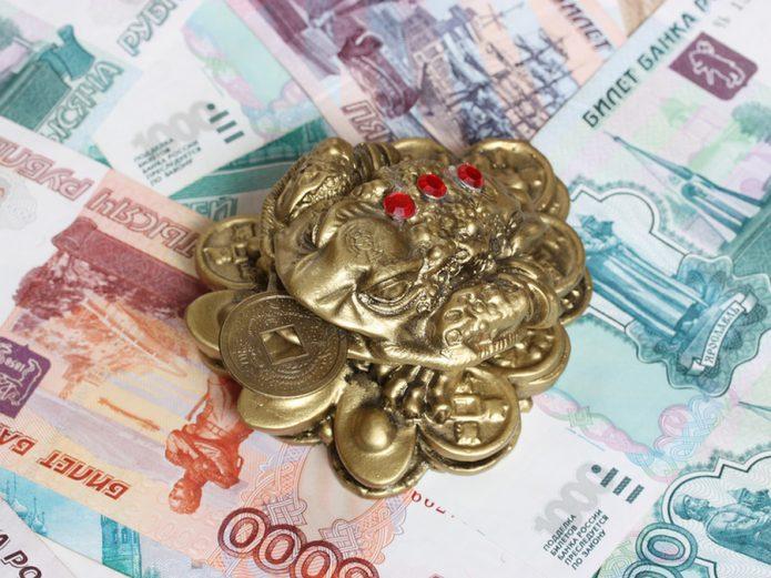 Статуэтка фэншуй и деньги