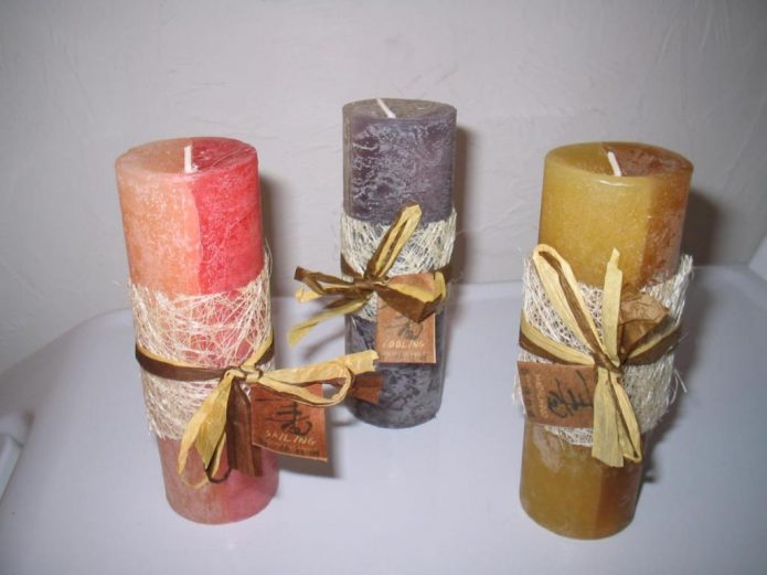 Самодельные свечи