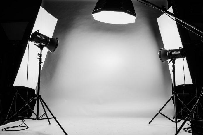 Освещение места съёмки