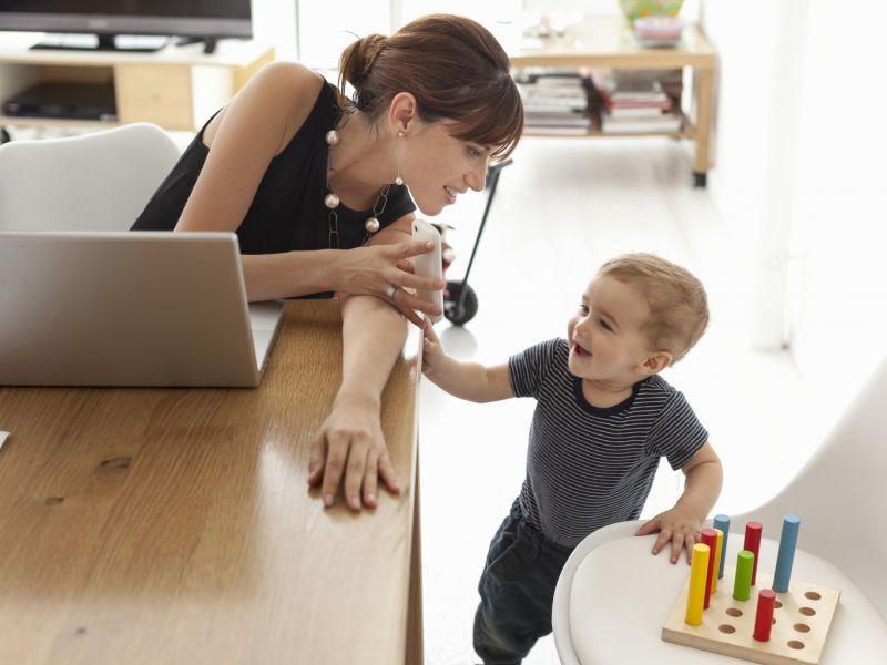 3 лучших способа заработка для многодетной мамы