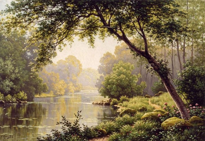 картина с пейзажем
