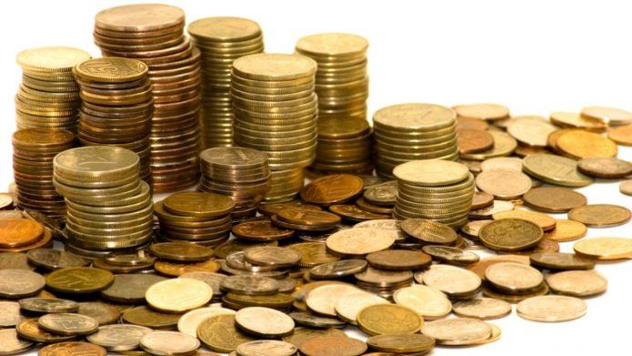 Монеты с красным или жёлтым отливом