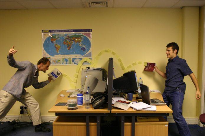 забавные случаи в офисе