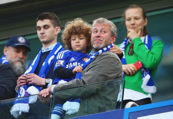 Абрамович с ребёнком